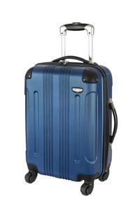 Reisegepäck Hartschalen Koffer Kabinen Handgepäck Trolley Blau 55 Klein Bowatex