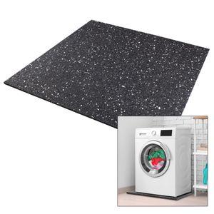 kör4u Antivibrationsmatte für Waschmaschinen 60x60x1cm