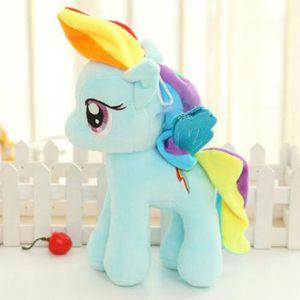 My Little Pony Plüschtier Schmusetier Kuscheltier Kinder Weihnachten Geschenk Stoffpuppe Rainbow Dash