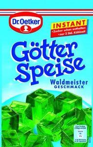 Dr. Oetker Götterspeise Instant Waldmeister, 100 g