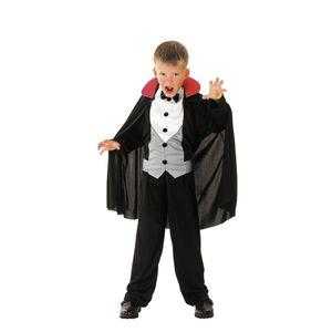 Dracula Kostüm Halloween Fasching 4-6 J Kinder Jungen