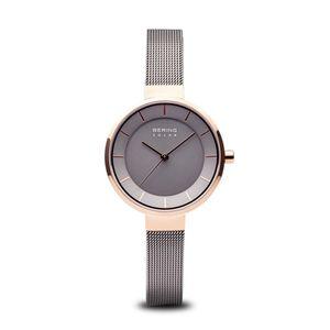 BERING - Armbanduhr - Damen - Solar - rosé gold glänzend - 14631-369