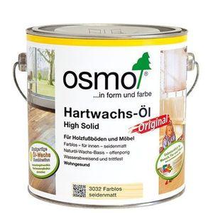 OSMO 3065 Hartwachs Öl Farblos Halbmatt 2,5 Ltr