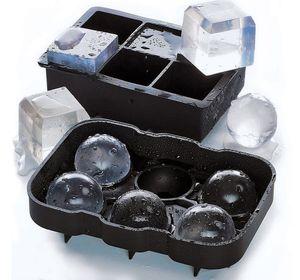 2er Set Eiswürfelform aus Silikon Eiswürfelbehälter mit Deckel BPA Frei für Eiswürfel Ice Cube perfekt für Gekühltes Bier Cocktails Whisky Dessert
