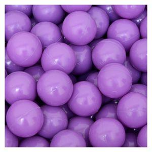50 Bälle für Bällebad 5,5cm Babybälle Plastikbälle Baby Spielbälle Lila