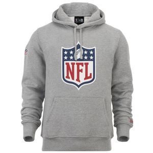 New Era - NFL Shield Logo Hoodie - grey : L Farbe: Grau Größe: L
