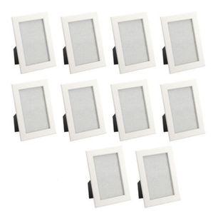 10x Ikea Fiskbo Bilderrahmen 10x15 weiß