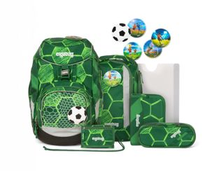 Ergobag 6-tlg. Schulrucksackset Pack Synthetik 35 x 25 x 22 cm (H/B/T) Kinder Schulranzen 20 Liter