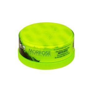 Morfose Aqua Hair Gel Matte Styling Wax Ultra Strong Grün 150 ml Ultra Starker Halt