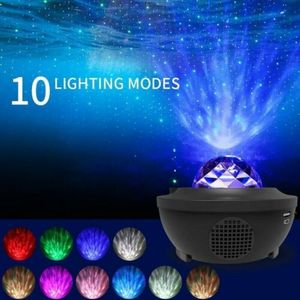 LED Sternenhimmel Projektor Nachtlicht Galaxy Starry Mond Weihnachten Lampe USB