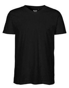 Herren V-neck T-Shirt - Farbe: Black - Größe: 3XL