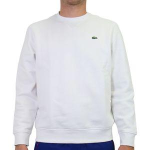 Lacoste Fleece-Sweatshirt Herren Weiß (SH1505 800) Größe: 4 (M)