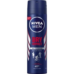 Nivea Deo Dry Impact Men 150ml Dose