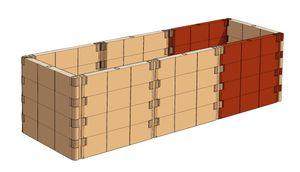 Juwel Hochbeet PROFILINE Erweiterungs-Set 20379