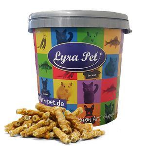 5 kg Lyra Pet® Kaurollen mit Hühnerbrust natur in 30 L Tonne