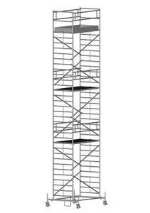 ZARGES RollMaster 2T - LM-Fahrgerüst Fahrbalken Arbeitshöhe 11,65 m