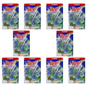 10x Bref Pine WC Frisch Power Aktiv WC-Hänger Für Toilette (2x 50g)