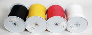 BasicNature Seile auf 200 Meterrollen Zeltleine 200m 3mm gelb Zelt Leine Seil Spannleine Abspannleine Wäscheleine