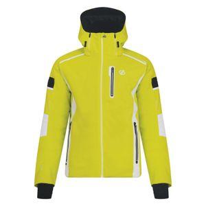 dare2b Herren Wintersport  Alpine Ski-Jacke Skijacke Edge OutJacket gelb, Größe:XXXL