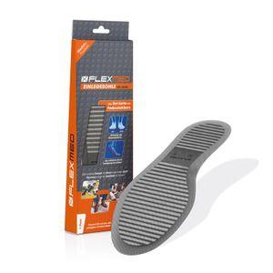 FLEXMED Einlegesohlen Gel Größe 43 Schuheinlagen Gelsohle Einlagen Schuh Stabil