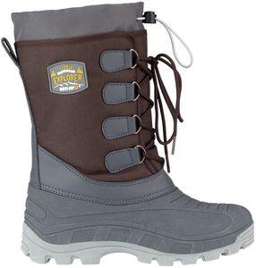Winter-grip Schneestiefel Sr Northern Tracker Braun/Anthrazit/Ockergelb Winter-Schuhe, Größe:39/40