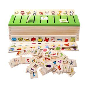 Montessori Holz Steckspiel Sortierspiel Kinderspiele Kinder Spiele Spielzeug Steckspiele