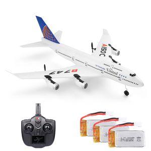 Wltoys XKS A150-C RC Flugzeug 2.4G Flugzeug RC Flugzeug 2CH Fernbedienung EPP Flugzeug Miniaturmodell Flugzeug Outdoor Toy 3 Batterie