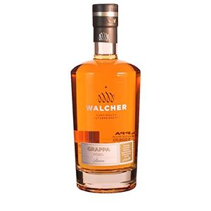 Walcher Grappa d Oro Riserva barriquegereifter Tresterbrand 700 ml