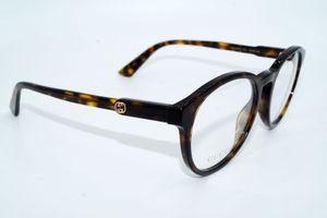 GUCCI Brillenfassung Brillengestell Eyeglasses Frame GG 0485 002