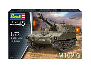 Revell Modellbausatz Panzer M109 G 1:72