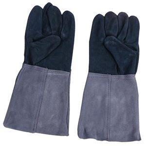 Hochwertig Schweißerhandschuhe Arbeitshandschuhe Schutzhandschuhe für Elektrisches Schweißen, ca. 380 mm