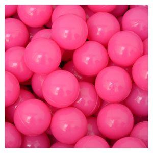50 Bälle für Bällebad 5,5cm Babybälle Plastikbälle Baby Spielbälle Pink