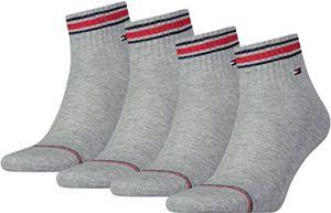 Tommy Hilfiger Herren Quarter Iconic Sport Socken Socks 2er Pack, Größe:39 - 42, Hilfiger Farbe:Tommy Original 085