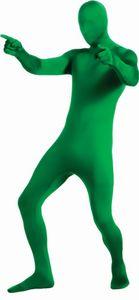 RUBIE'S 2nd Skin Green Adult, Größe M