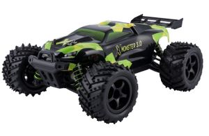 X-Monster Truck ferngesteuertes RC Auto 45 km/h, 1:18, 2 Akkus, Allrad, 100m Reichweite, Buggy