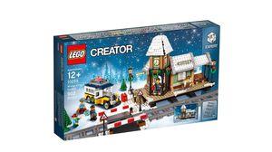 LEGO® Creator Winterlicher Bahnhof 10259