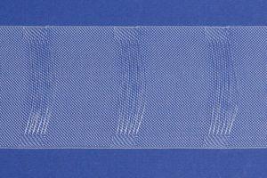 rewagi  5 Meter Stegband, Gardinenband, Gardinenzubehör - Variabel - Transparent - L019