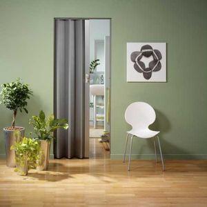 Falttür Spacy von Grosfillex Aluminium-Dekor