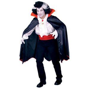 Herren Kostüm Dracula Vampir Cape Umhang Halloween Gr.XXXL