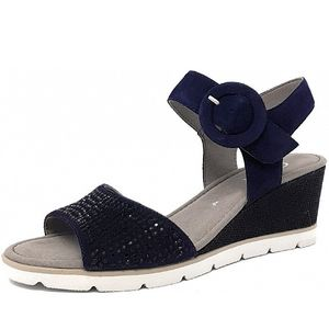 Gabor Sandale Blau Größe 5.5, Farbe: bluette