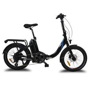 Mini Urbanbiker E-Bike Klapprad 20 Zoll, 36V 14Ah (504Wh) Akku, 250W Motor Faltrad Pedelec Schwarz