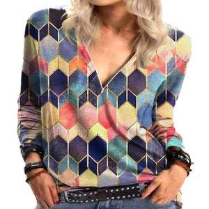 Damen Rundhals Langarm T-Shirt Pullover Top Reißverschluss,Farbe: Orange,Größe:,Farbe: Orange,Größe:S