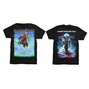 Iron Maiden Tour Trooper Mens Black T Shirt: Large