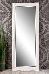 Wandspiegel Barock weiß Elisabeth 150 x 60 cm