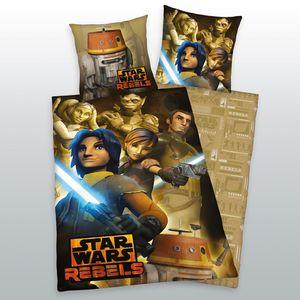 Bettwäsche Star Wars Flanell Rebels 135x200 80x80 cm