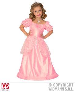 Rosa Prinzessin Kostüm Mädchen Gr. 110 - 116, Gr. 110, 3-4 Jahre