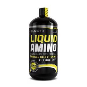 BioTech USA Liquid Amino Nitron Flüssig Aminosäuren, 1000ml, Geschmack:Zitrone