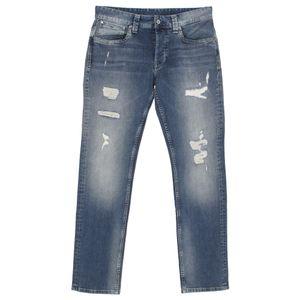 21481 Pepe, Cash,  Herren Jeans Hose, Stretchdenim, blue destroyed, W 33 L 34