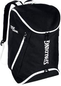 Spalding Unisex Back Pack Rucksack schwarz/weiss 40L 300454301, Farbe:Schwarz - Weiß