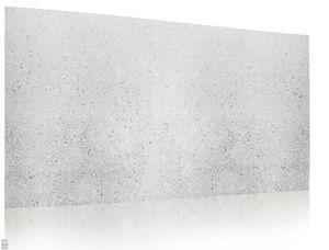 Wanddeko Platte Beton Imitation BETONLOOK Wandpaneele Wandverkleidung helle BETONLOOK IMITATION aus Polystyrol (0,5qm)